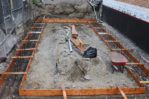 Footings Foundation